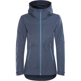 Haglöfs Trail Jacket Women tarn blue
